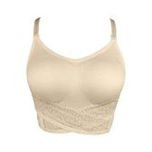 無痕無鋼圈胸罩 前交叉扣調整型內衣防震運動文胸n388