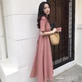 當當衣閣-甜美連衣裙收腰 氣質夏 新款流行女士裙子仙女超仙森系法式