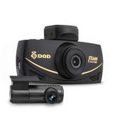 DOD FS500 送128G+DP4電力線 SONY感光 雙鏡頭行車紀錄器