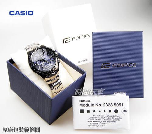 EDIFICE EFR-527D-1A 賽車錶 三眼計時碼表 日期 黑面 47mm 防水100M 男錶 EFR-527D-1AVUDF CASIO卡西歐