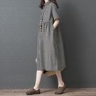 洋裝 連身裙 2020夏季新款韓版寬鬆大...
