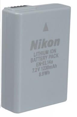 全新《裸裝》Nikon EN-EL14a 原廠鋰電池【D3100 D3200 D5300 D5200 】