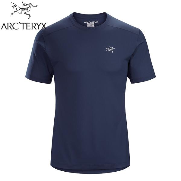 【ARC'TERYX 始祖鳥 男 Velox快乾短袖圓領衫《夜月藍》】20987/排汗T恤/運動衫/透氣/吸濕排汗