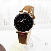 星空手錶2018新款時尚潮流生活防水女士學生韓版腕錶 萬客居