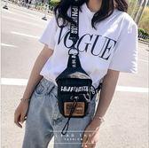 胸包 迷你胸包女包休閒學生男胸包女手機包零錢包袋帆布【韓國時尚週】
