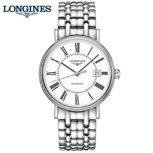 LONGINES 浪琴 Presence 當代系列腕表 羅馬機械錶-40mm L49224116