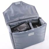 ◎相機專家◎ 缺貨 相機內袋 L號 加蓋版 可拆蓋 背包內袋 攝影包 攝影內袋 鏡頭 防震 長30CM