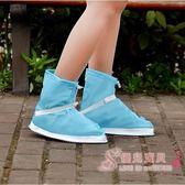 雨鞋套 防水雨天加厚戶外旅游防雨鞋套 【快速出貨】