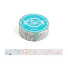 《LEing》迪士尼米奇&米妮15mm和紙膠帶(夏日水彩)funbox生活用品_RD00271