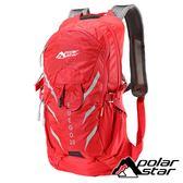 【PolarStar】休閒透氣背包20L『紅』P18727 旅遊.多隔間.登山背包.後背包.肩背包.手提包.行李包