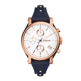 FOSSIL個性三眼時尚腕錶ES3838