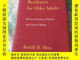 二手書博民逛書店英文原版:Group罕見Residences for Older