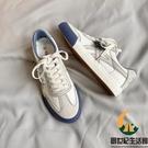 帆布鞋男秋季休閒板鞋百搭小白鞋【創世紀生活館】