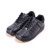 PAMAX 綁帶寬楦耐油鋼頭鞋  黑 女