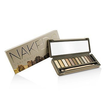 SW Urban Decay-15 Naked 眼影盤 2 Eyeshadow Palette: 12x Eyeshadow, 1x Doubled Ended Shadow/Blending Brush