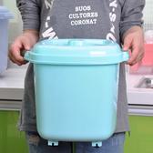 米桶塑料家用密封廚房儲物收納面粉桶密封20 斤米缸防潮儲米箱ATF 錢夫人