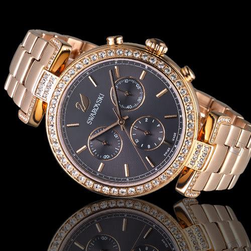 施華洛世奇SWAROVSKI魅灰閃耀計時腕錶 5295366