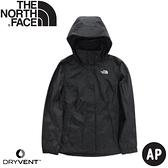 【The North Face 女 DryVent 防水保暖外套《黑》】4U5G/防風外套/保暖外套/防水