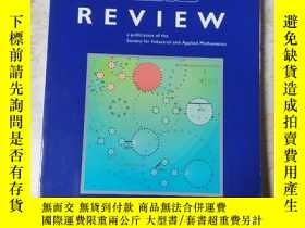 二手書博民逛書店SIAM罕見Review June 2020 Volume62 Number 2Y265801 出版20