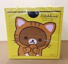 【震撼精品百貨】Rilakkuma San-X 拉拉熊懶懶熊~積木置物盒-黃色底