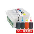 【30cc墨水組】EPSON T133/133 填充式墨水匣 T22/TX120/TX130/TX420W/TX320F/TX430W/TX235