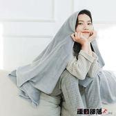 空調毯法蘭絨夏季毛毯宿舍毛巾被珊瑚絨蓋毯空調午睡絨毯 運動部落