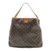 LOUIS VUITTON LV 路易威登 原花肩背包 Delightful MM M40353【二手名牌BRAND OFF】