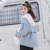 外套 外套女短款韓版bf原宿寬鬆百搭學生棒球服女 伊鞋本鋪