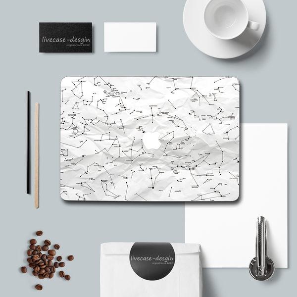 蘋果 MacBook Air / Pro  貼紙 蘋果筆記本電腦 保護貼膜 Mac外殼 彩膜 原創意 美樂蒂