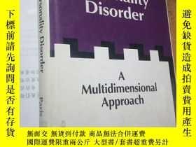二手書博民逛書店Borderliine罕見personality Disorder,邊緣型人格障礙Y160831