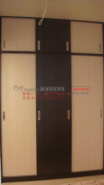 歐雅系統家具 系統櫃 衣櫃 推拉門衣櫃 E1V313 防潮塑合板 B0007