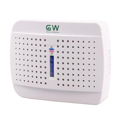GW 水玻璃無線式迷你除濕機 E-333全白款 泡殼包裝