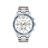 COACH 經典計時紳仕腕錶/白/44mm/14602085