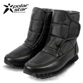 PolarStar 女 防潑水 短筒保暖雪鞋│雪靴│冰爪  P13620.(內厚鋪毛)防滑鞋底.雪靴.雪地必備