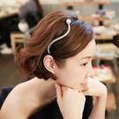 髮箍 韓版珍珠S型髮箍【O3192】☆雙兒網☆