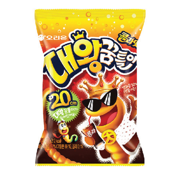 韓國好麗友 毛毛蟲可樂軟糖