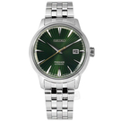 SEIKO 精工 / 4R35-01T0L.SRPE15J1 / PRESAGE 機械錶 自動上鍊 日期 不鏽鋼手錶 綠色 40mm