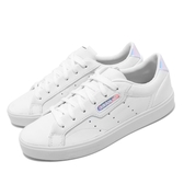 adidas 休閒鞋 Sleek W 白 銀 女鞋 運動鞋 炫彩 【PUMP306】 EG2685