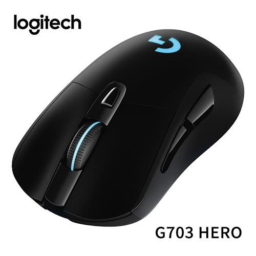 (全新HERO 16K 感應器) Logitech 羅技 G703 HERO LIGHTSPEED 無線遊戲滑鼠
