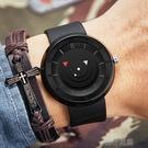 手錶男 炫酷個性創意無指針概念手錶男中學生青少年防水時尚正韓簡約潮流