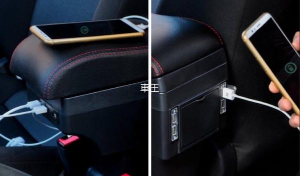 【車王汽車精品百貨】Suzuki IGNIS ignis 加大加高加寬 真皮 中央扶手箱