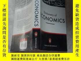 二手書博民逛書店Dictionary罕見of ECONOMICSY15089 Graham Bannock Penguin R