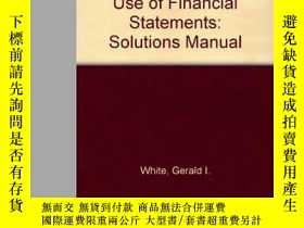 二手書博民逛書店The罕見Analysis And Use Of Financial StatementsY256260 Ge
