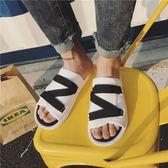 拖鞋夏季新款情侶涼鞋男士百搭拖鞋韓版潮男鞋子學生沙灘 貝芙莉女鞋