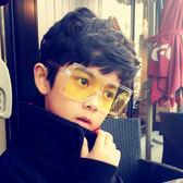 新品兒童個性眼鏡小女孩大框太陽鏡裝飾舒適款女童墨鏡潮【全館免運八五折任搶】