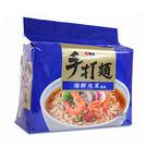 維力手打麵海鮮泡菜麵80g*5包【愛買】