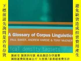 二手書博民逛書店A罕見Glossary of Corpus Linguistic