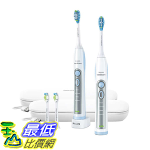 [107美國直購] 電動牙刷 Philips Sonicare Flexcare Whitening Edition Toothbrush with Charging Travel Case - White