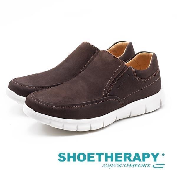 【南紡購物中心】SAPATOTERAPIA 巴西男士 Loafer平穩樂福休閒鞋-深咖(另有深藍)
