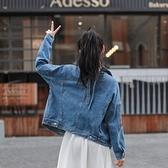 牛仔外套-短版時尚後背繫繩休閒女丹寧夾克73tj17[時尚巴黎]